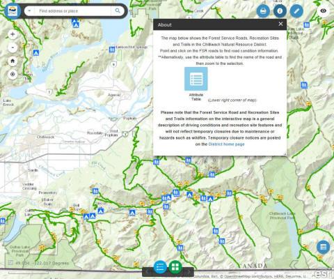 FSR Map